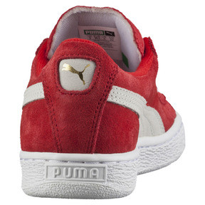 Thumbnail 3 of Kid's Suede Trainers, high risk red-white, medium