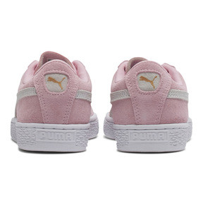 Thumbnail 3 of Suede Sneakers JR, pink lady-white-team gold, medium