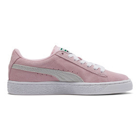 Thumbnail 5 of Suede Sneakers JR, pink lady-white-team gold, medium