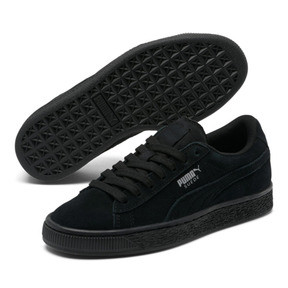 Thumbnail 2 of Suede Sneakers JR, black-puma silver, medium