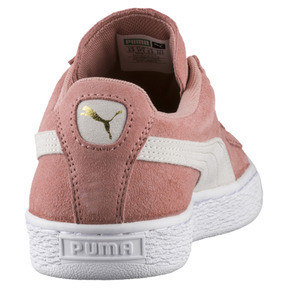 Thumbnail 4 of Suede Classic Women's Sneakers, Cameo Brown-Puma White, medium