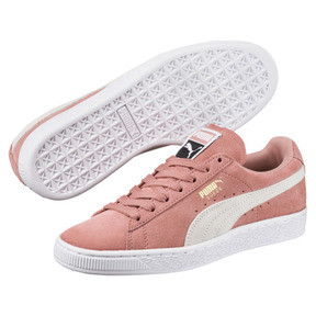 Thumbnail 2 of Suede Classic Women's Sneakers, Cameo Brown-Puma White, medium