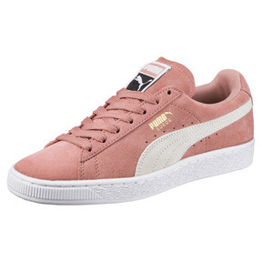 Thumbnail 1 of Suede Classic Women's Sneakers, Cameo Brown-Puma White, medium