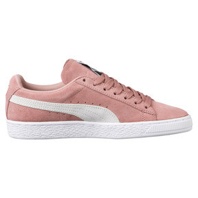 Thumbnail 3 of Suede Classic Women's Sneakers, Cameo Brown-Puma White, medium