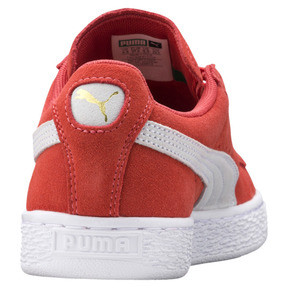 Thumbnail 4 of Suede Classic Women's Sneakers, Spiced Coral-Puma White, medium
