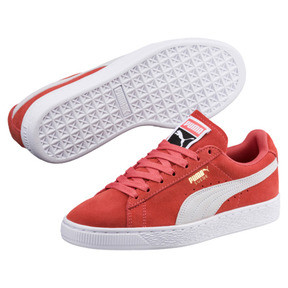 Thumbnail 2 of Suede Classic Women's Sneakers, Spiced Coral-Puma White, medium