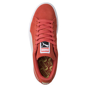 Thumbnail 5 of Suede Classic Women's Sneakers, Spiced Coral-Puma White, medium