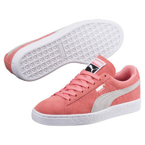 Thumbnail 2 of Suede Classic Women's Sneakers, Shell Pink-Glacier Gray, medium