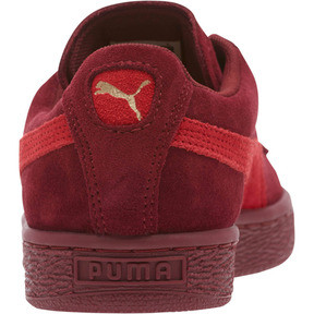 Thumbnail 4 of Suede Classic Women's Sneakers, Pomegranate-Ribbon Red, medium