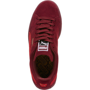Thumbnail 5 of Suede Classic Women's Sneakers, Pomegranate-Ribbon Red, medium