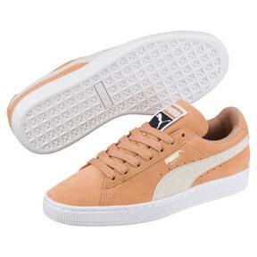 Thumbnail 2 of Suede Classic Women's Sneakers, Puma White-Whisper White, medium