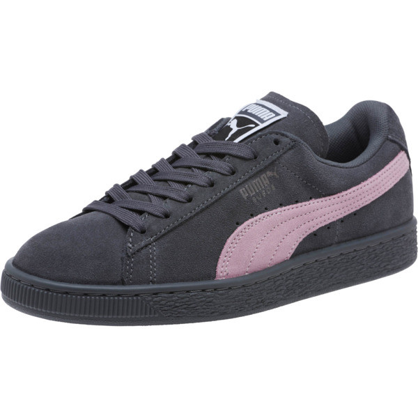 Suede Classic Women's Sneakers, Iron Gate-Winsome Orchid, large