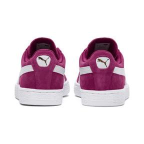 Thumbnail 4 of Suede Classic Women's Sneakers, Magenta Haze-Puma White, medium