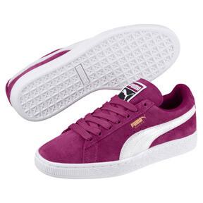 Thumbnail 2 of Suede Classic Women's Sneakers, Magenta Haze-Puma White, medium