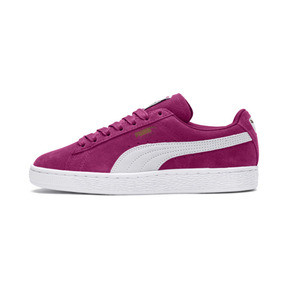 Thumbnail 1 of Suede Classic Women's Sneakers, Magenta Haze-Puma White, medium