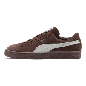 Thumbnail 1 of Suede Classic Women's Sneakers, Peppercorn-Puma White, medium