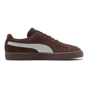 Thumbnail 5 of Suede Classic Women's Sneakers, Peppercorn-Puma White, medium