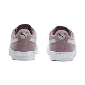 Thumbnail 4 of Suede Classic Women's Sneakers, Elderberry-Puma White, medium