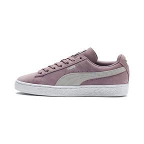 a012bb5f3 Zapatos deportivos de gamuza Classic para mujer, Elderberry-Puma White,  mediano