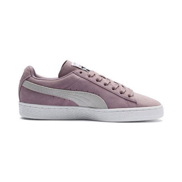 Suede Classic Women's Sneakers, Elderberry-Puma White, large