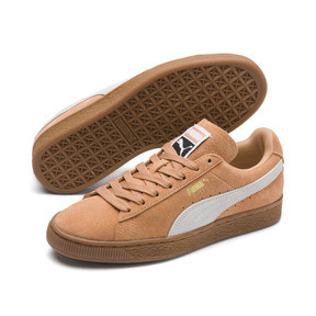 Thumbnail 2 of Suede Classic Women's Sneakers, Toast-Puma White, medium