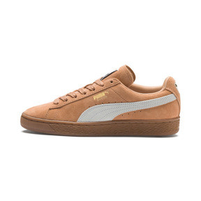 Thumbnail 1 of Suede Classic Women's Sneakers, Toast-Puma White, medium