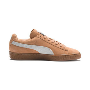 Thumbnail 5 of Suede Classic Women's Sneakers, Toast-Puma White, medium