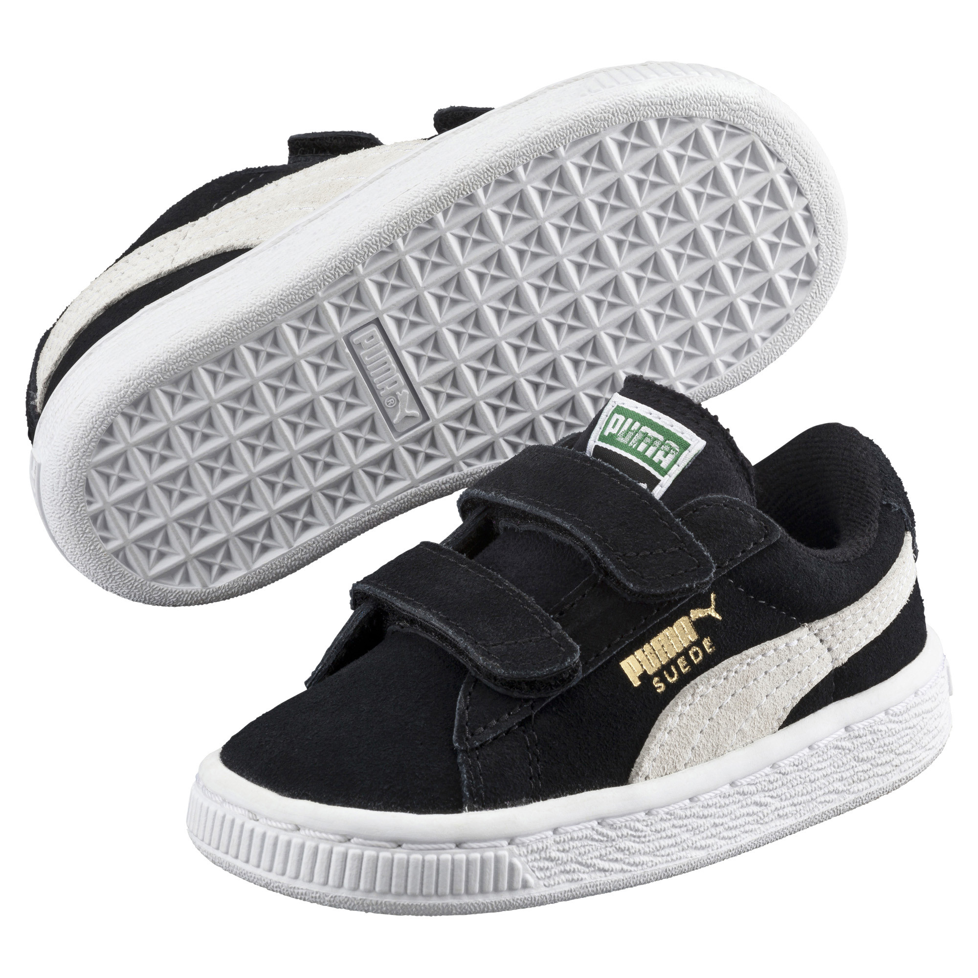 Image Puma Suede Two-strap Babies' Trainers #2