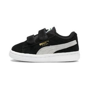 Miniatura 1 de Zapatos Suede AC para bebés, negro-blanco, mediano