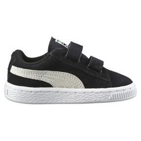 Miniatura 4 de Zapatos Suede AC para bebés, negro-blanco, mediano