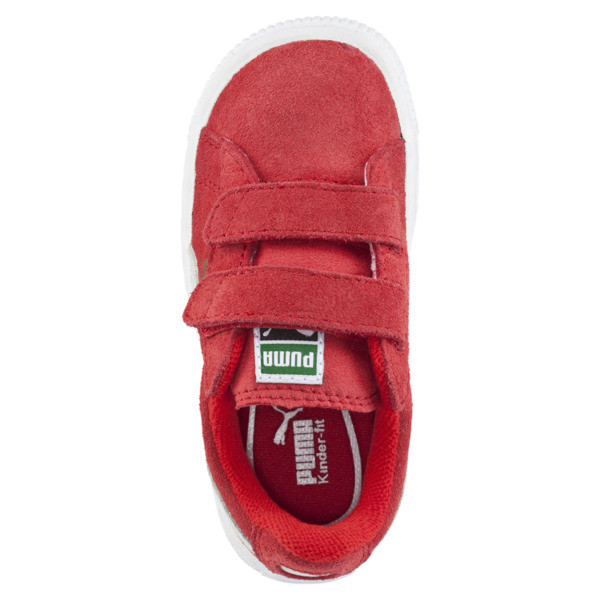 Suede AC Sneakers INF, high risk red-white, large