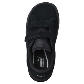 Thumbnail 5 of Suede Two-strap Babies' Trainers, Puma Black-Puma Silver, medium