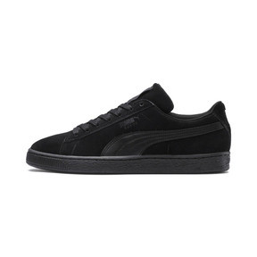 Thumbnail 1 of Suede Classic + LFS Men's Sneakers, black-black-black, medium