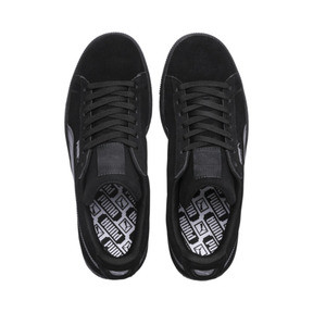 Thumbnail 6 of Suede Classic + LFS Men's Sneakers, black-black-black, medium