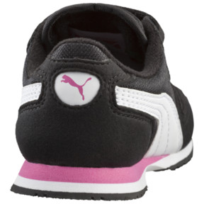 Thumbnail 4 of Cabana Racer Mesh AC Sneakers INF, black-white-carmine rose, medium