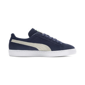 Thumbnail 5 of Suede Classic+ Trainers, peacoat-white, medium