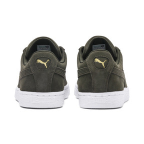 Thumbnail 4 of Suede Classic+ Trainers, forest night-white, medium