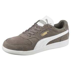 Thumbnail 1 of Icra Suede Trainers, Steel Gray-Puma White, medium