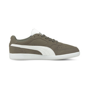 Thumbnail 4 of Icra Suede Trainers, Steel Gray-Puma White, medium