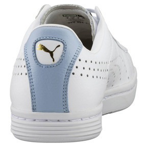 Thumbnail 4 of Court Star Sneaker, Puma White-Cashmere Blue, medium