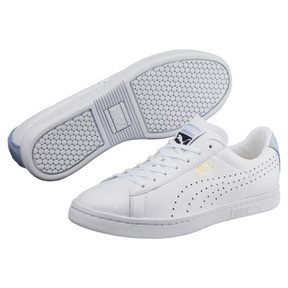 Thumbnail 2 of Court Star Sneaker, Puma White-Cashmere Blue, medium