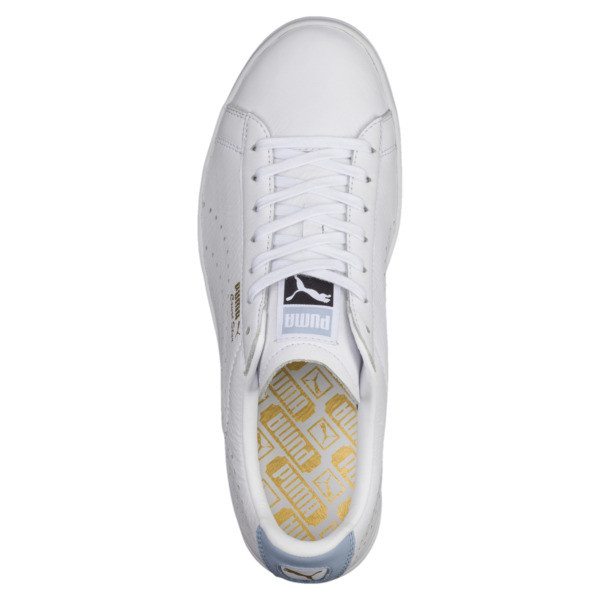 Court Star Sneakers, Puma White-Cashmere Blue, large