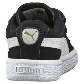 Thumbnail 3 of キッズ スウェード 2ストラップ PS スニーカー 17-21CM, Puma Black-Puma White, medium-JPN
