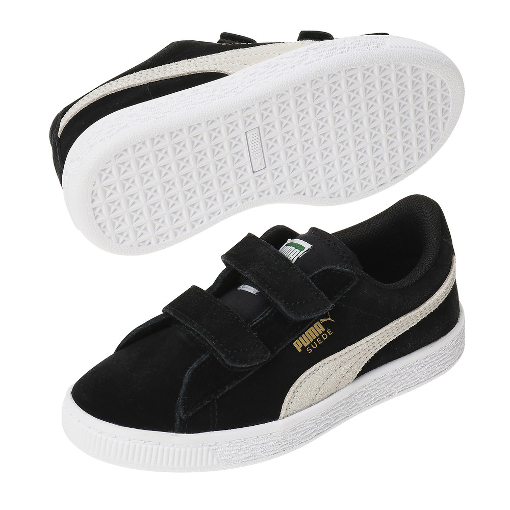 Suede Two strap Preschool Trainers