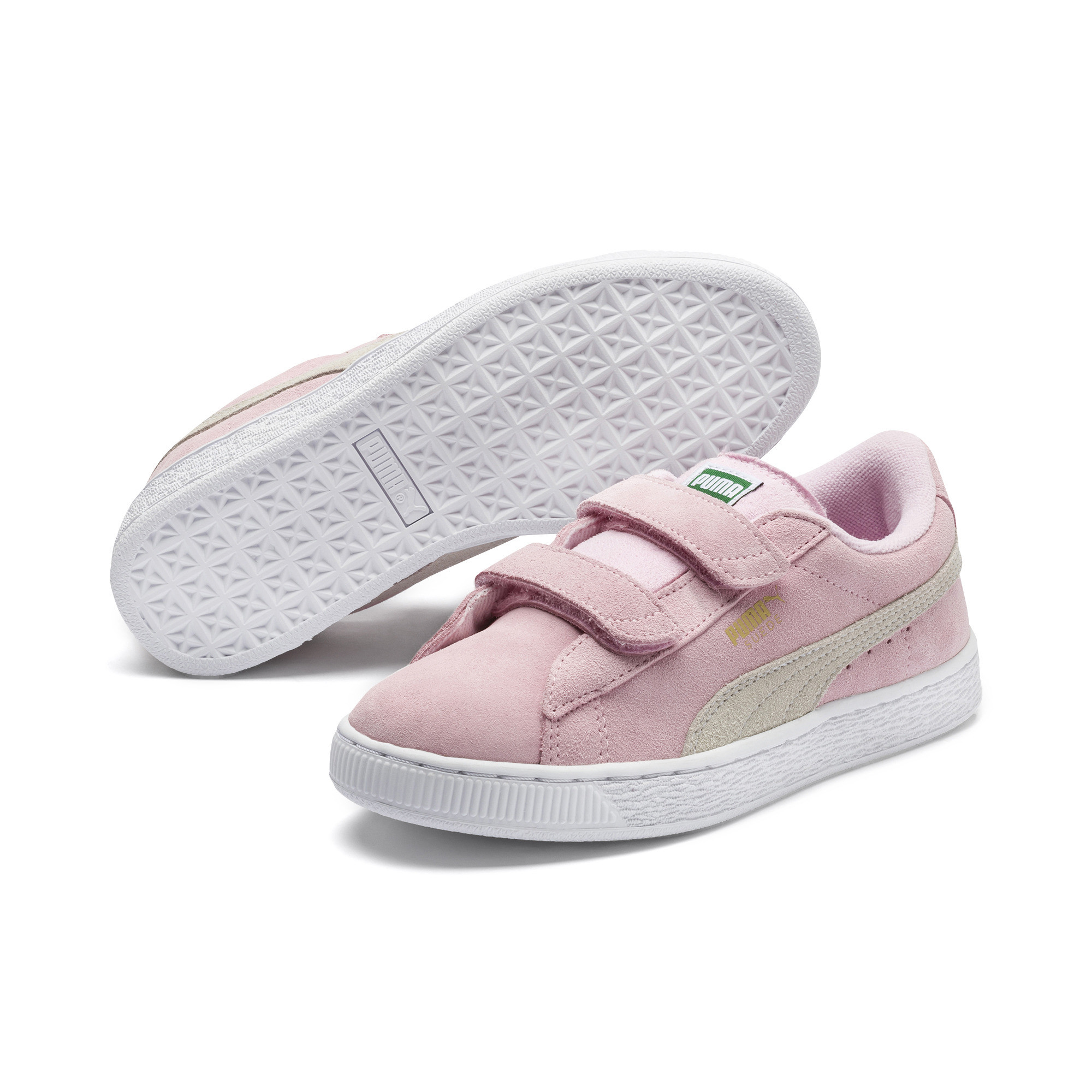 Image Puma Suede Two-strap Preschool Trainers #2