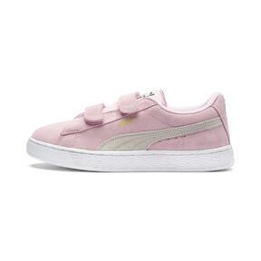 Suede Preschool Sneaker mit 2 Riemen