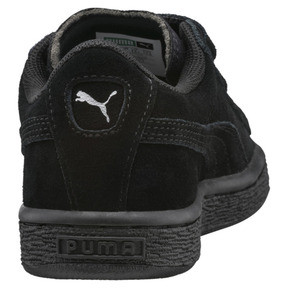 Thumbnail 4 of Suede Kids' Trainers, Puma Black-Puma Silver, medium