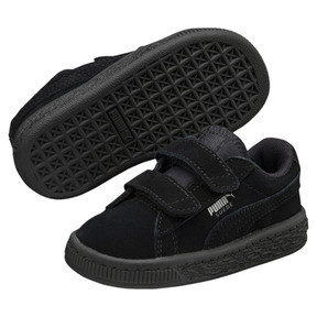 Thumbnail 2 of Basket Suede à 2 sangles pour enfant, Puma Black-Puma Silver, medium