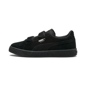 Thumbnail 1 of Suede Kids' Trainers, Puma Black-Puma Silver, medium