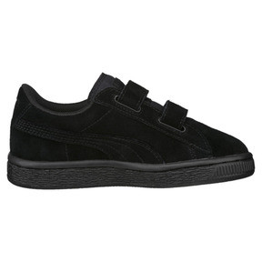 Thumbnail 3 of Suede Kids' Trainers, Puma Black-Puma Silver, medium